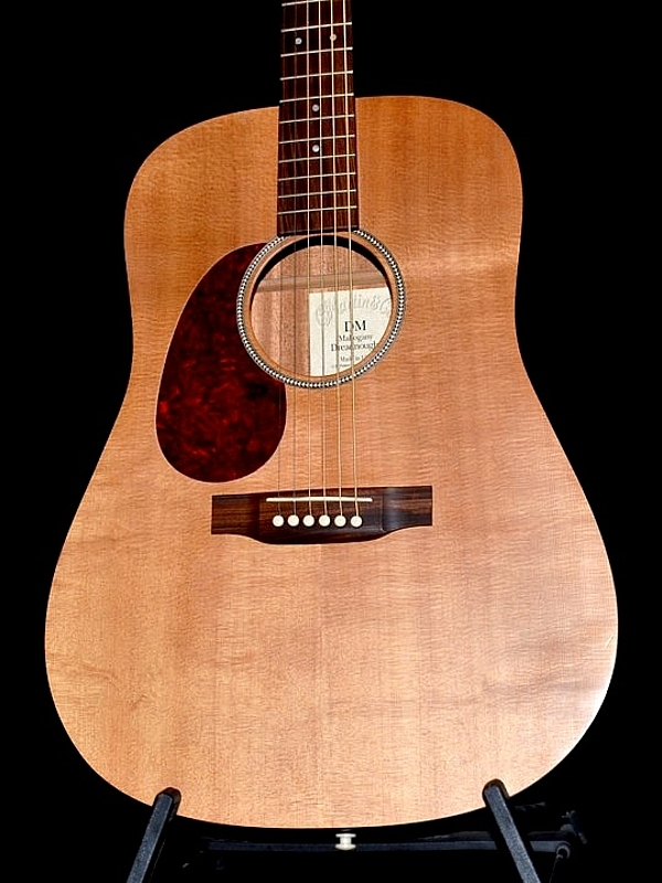 Martin DM Mahogany acoustic left hand handed lefty original case