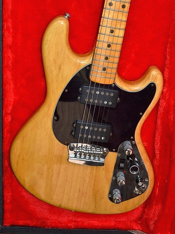 Musicman, Music Man, Stingray II, Sting Ray II, vintage guitar, 1977, seventies, Natural