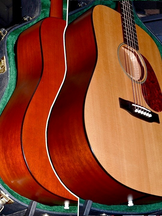 Just re-strung with a set of Red Brand's awesome Bluegrass strings, this guitar sizzles!