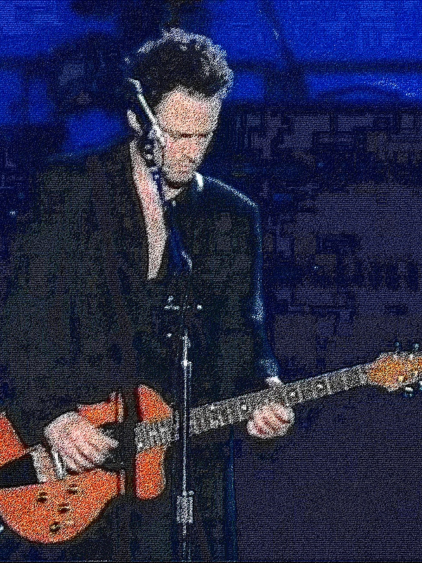 Custom order Rick Turner 'Model One', Lindsey Buckingham