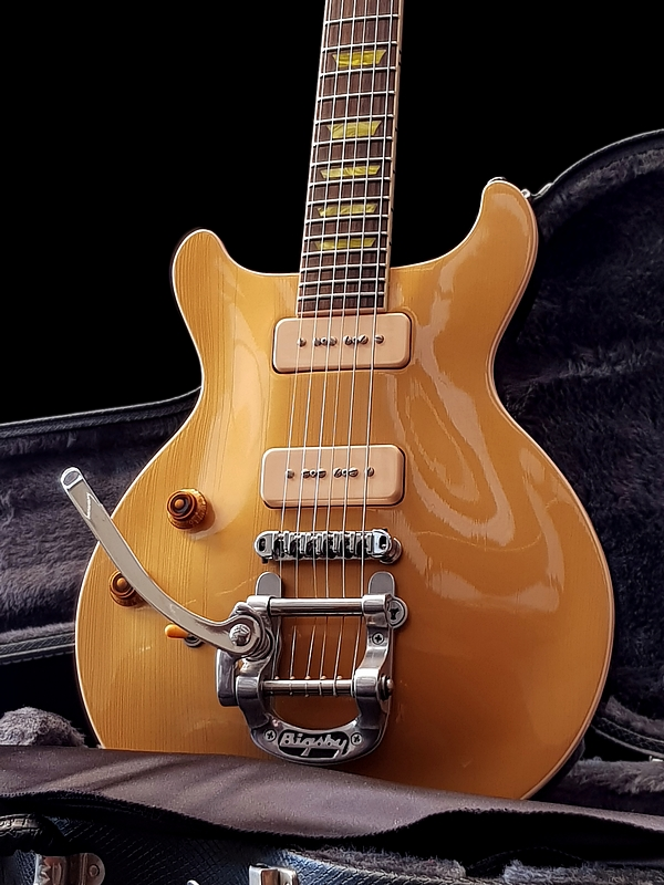 Gibson Les Paul Double-Cut Goldtop, Ltd Edition